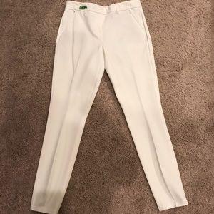 White House Black Market Pants - WHBM skinny leg white dress pants.